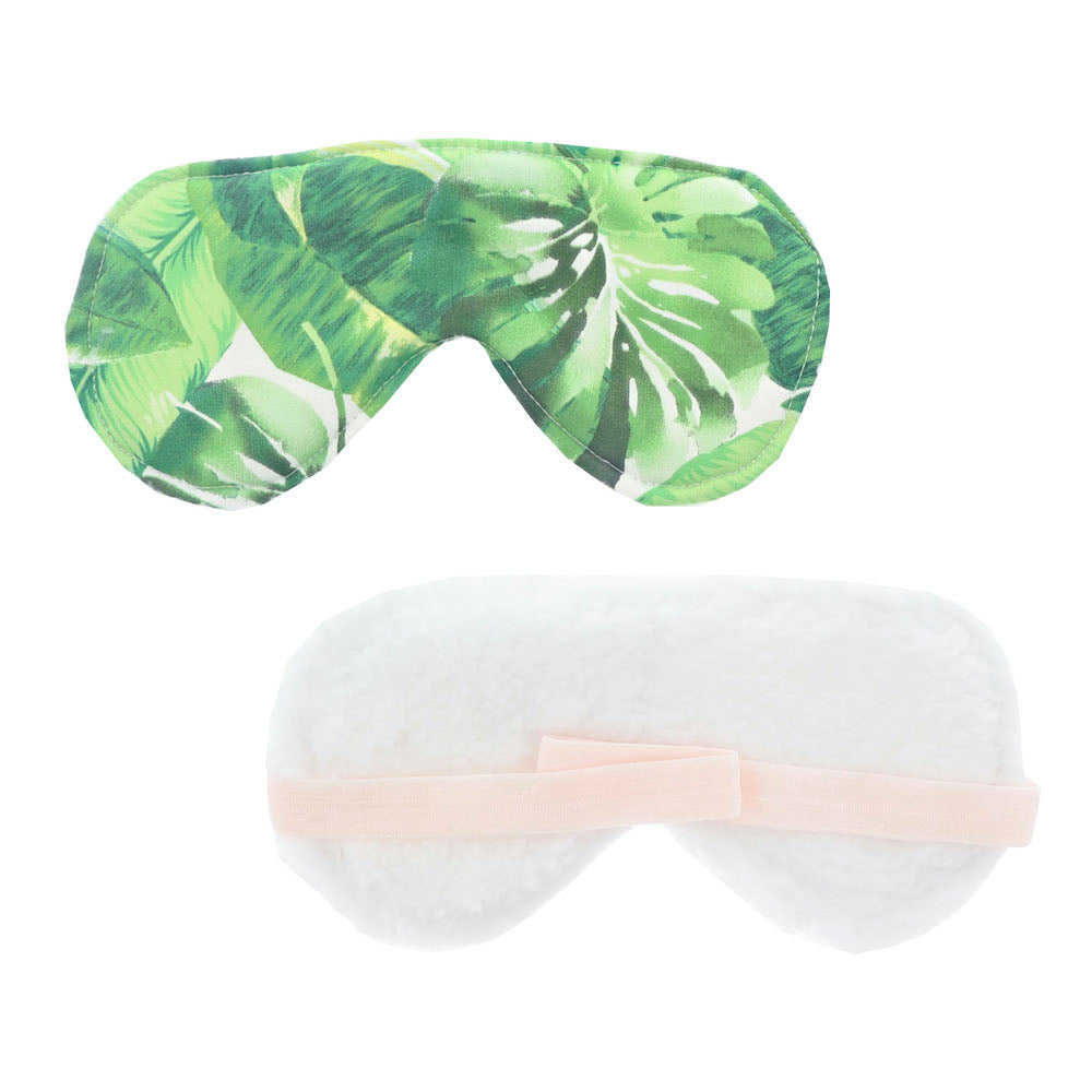 Green Leaf Sleep Mask