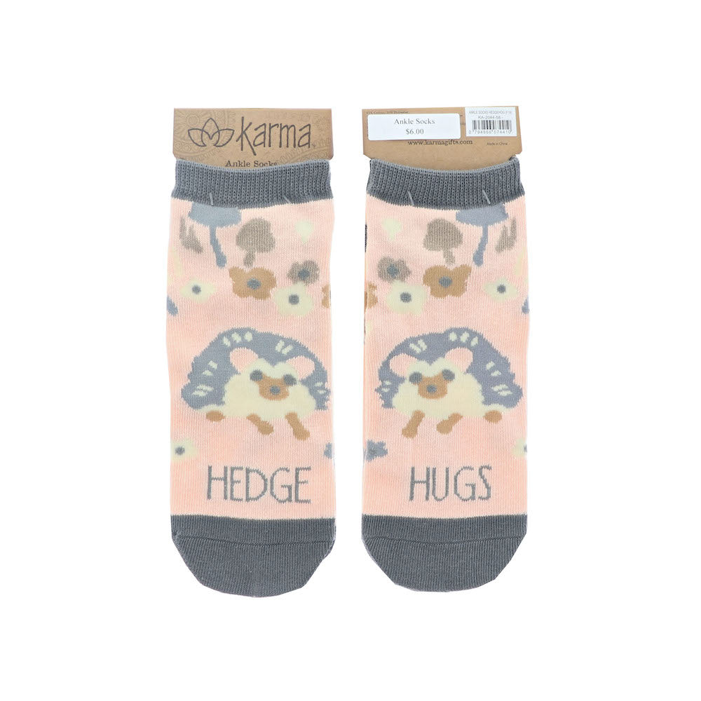 Hedge Hugs Ankle Socks