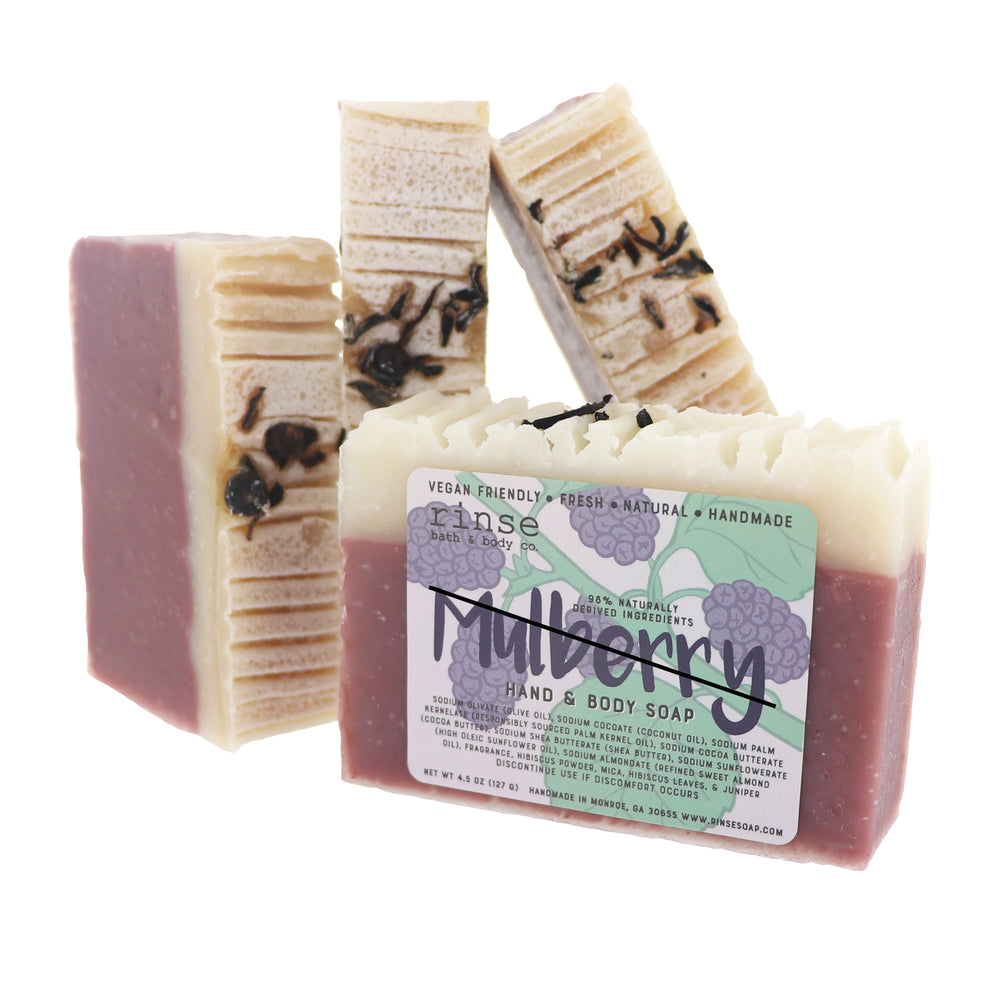 Mulberry Soap - Aged