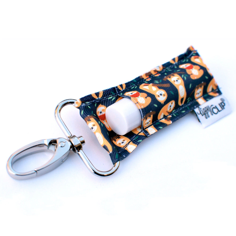 Navy Sloth Lippy Clip