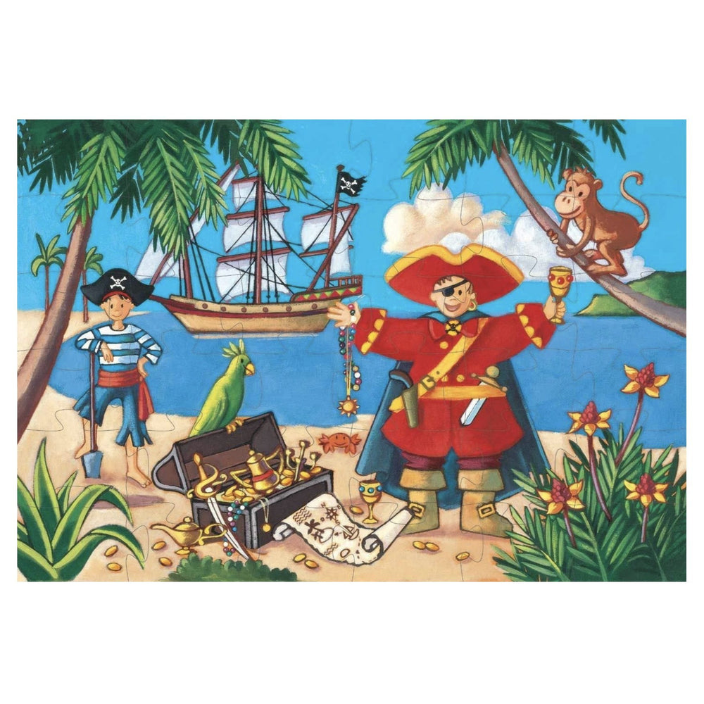 A Pirate & His Treasure Puzzle - Rinse Bath & Body