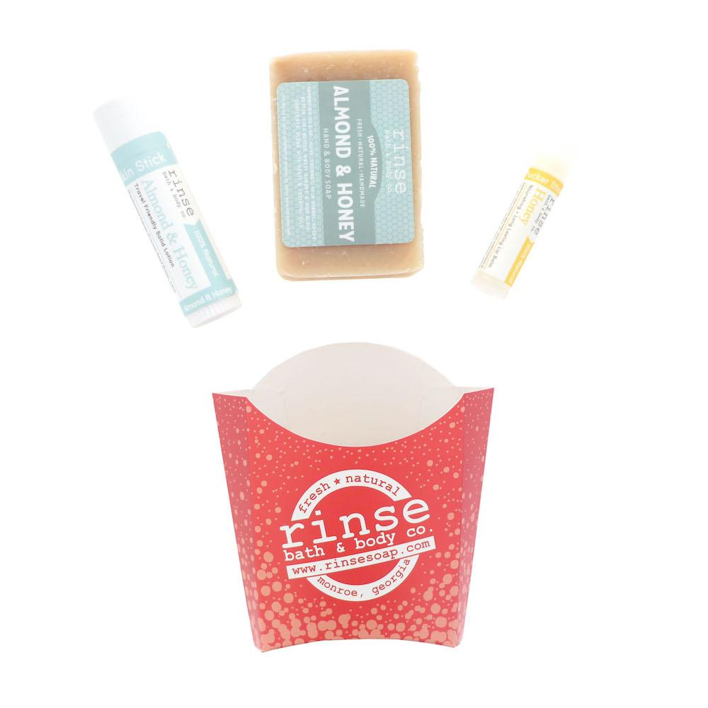 Almond & Honey Fry Box Bundle - Rinse Bath & Body