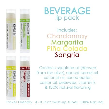 Beverage Lip Pack - Rinse Bath & Body