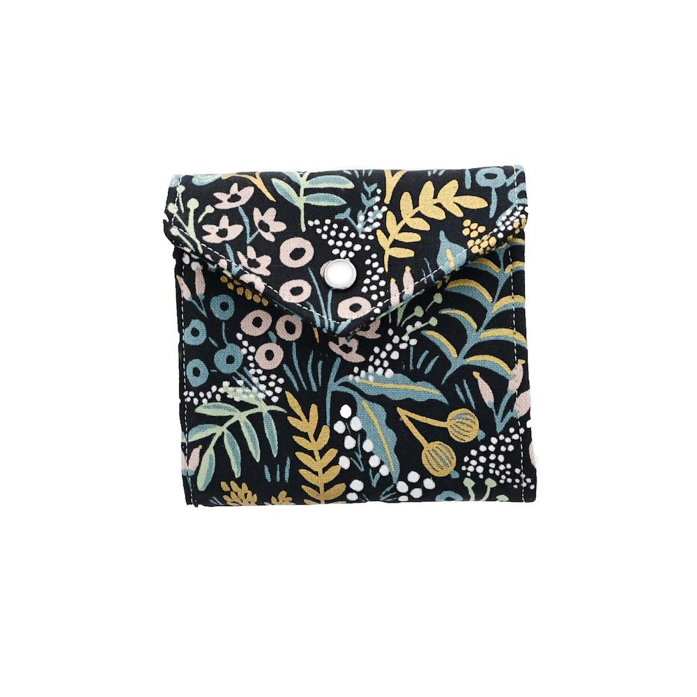 Blue and Yellow Pattern Essential Oil Roll-On Wallet 3 Row