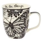 Boho Coffee Mug Be The Change - Rinse Bath & Body