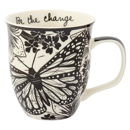 Boho Coffee Mug Be The Change