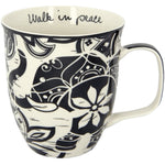 Boho Coffee Mug Walk In Peace - Rinse Bath & Body