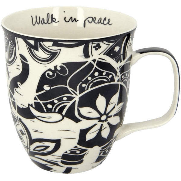 Boho Coffee Mug Walk In Peace