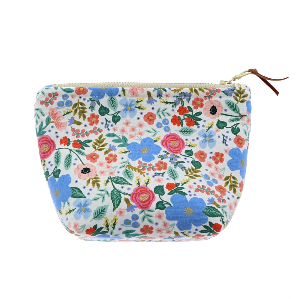 Bright Floral Pattern Essential Oil Bottle Pouch 6 Row