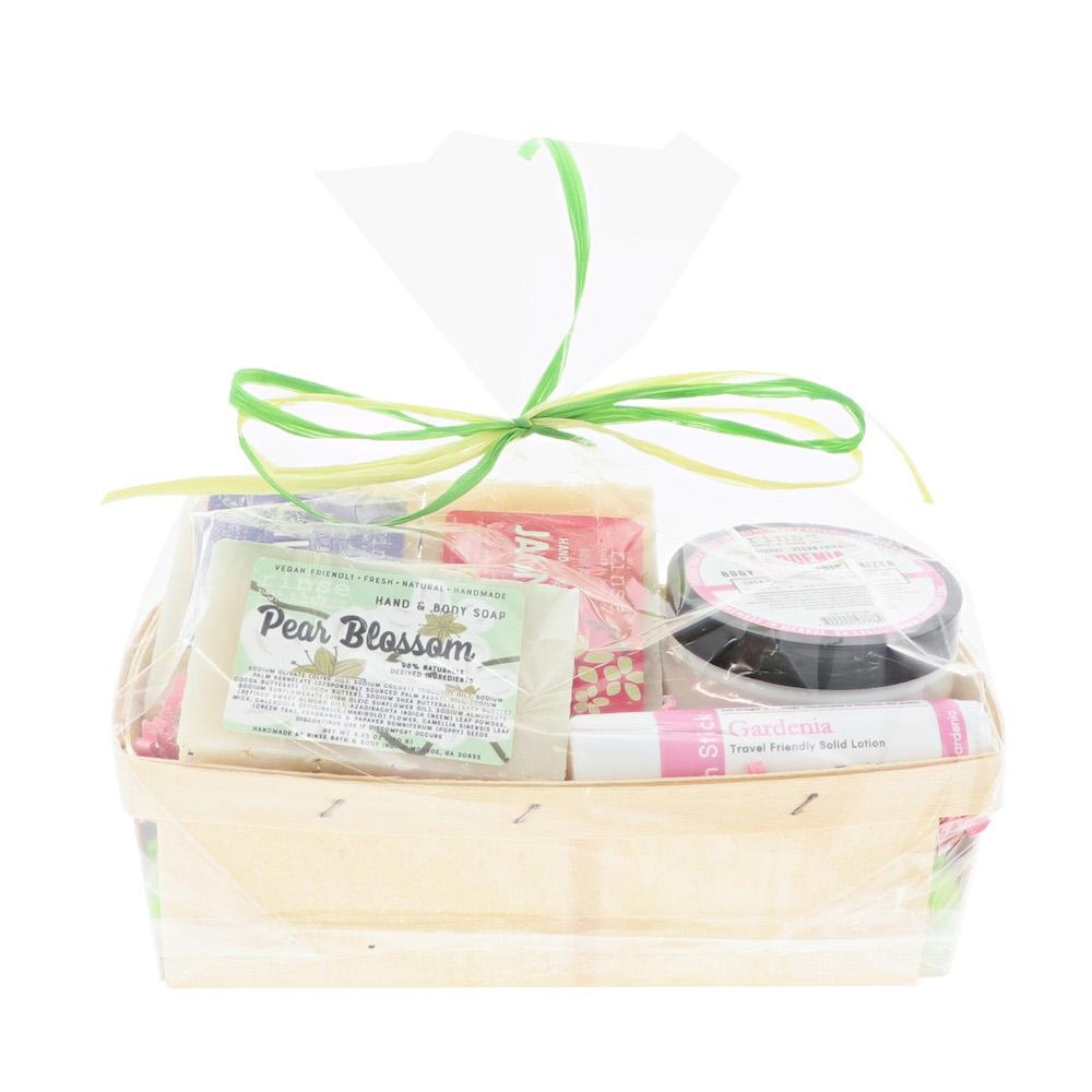 Bunch of Flowers Gift Basket - Rinse Bath & Body