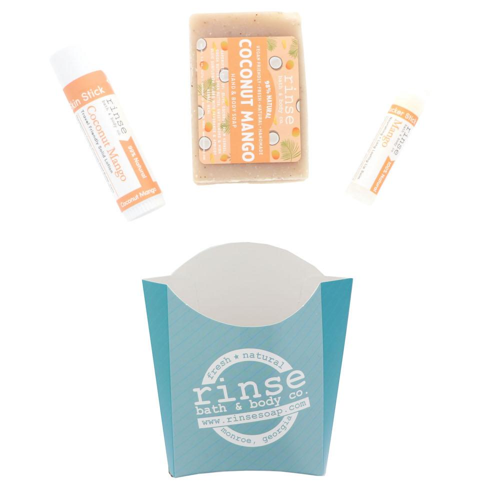 Coconut Mango Fry Box Bundle - Rinse Bath & Body