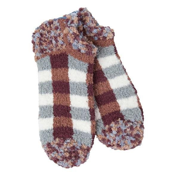 Cozy Collection: Ankle Socks Woods Plaid - Rinse Bath & Body