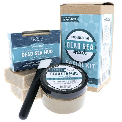 Dead Sea Mud Facial Kit - Rinse Bath & Body