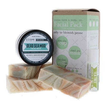 Facial Pack: Oily to Blemish Prone - Rinse Bath & Body