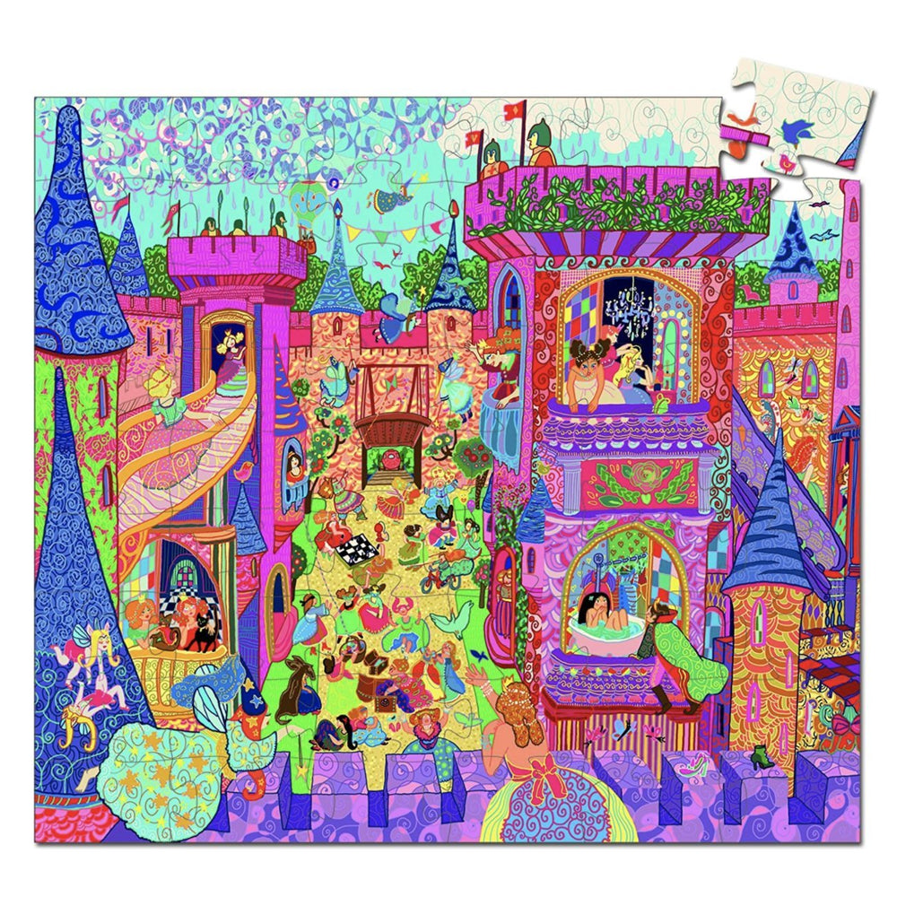 Fairy Castle Puzzle - Rinse Bath & Body