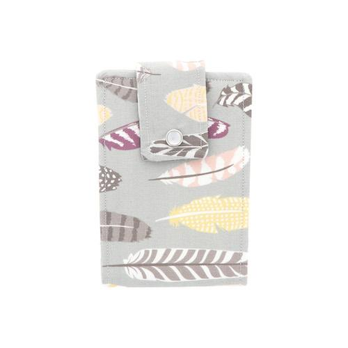 Feather Pattern Essential Oil Roll-On Wallet 6 Row