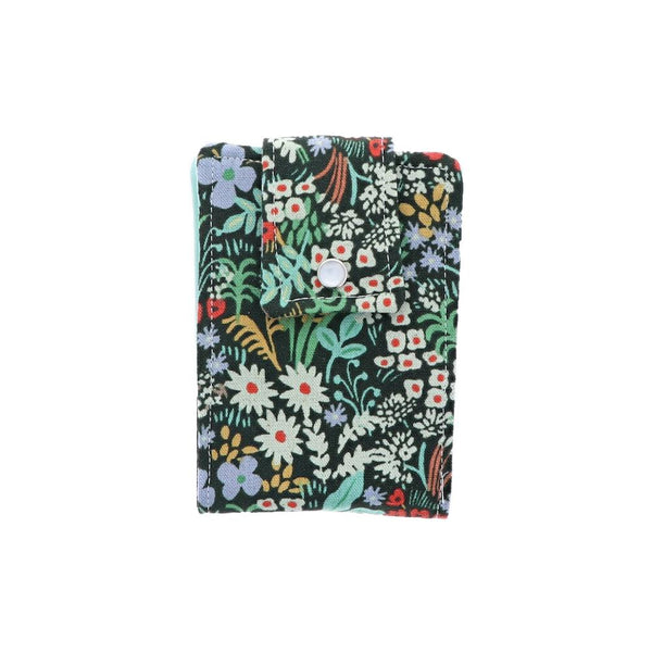 Floral With Dark Background Essential Oil Roll-On Wallet 6 Row