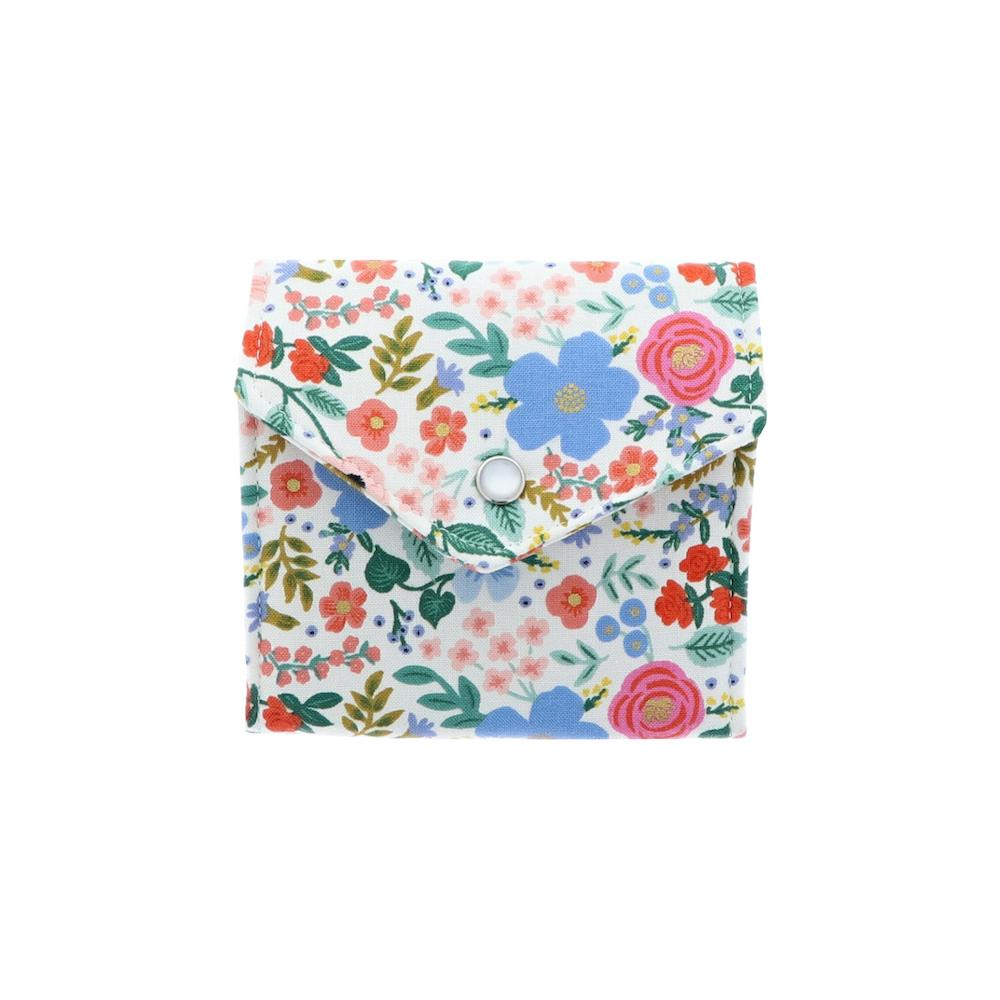 Floral With White Background Essential Oil Roll-On Wallet 3 Row