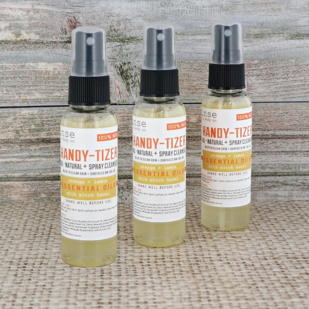 Handy-Tizer - Orange Lemon - Rinse Bath & Body
