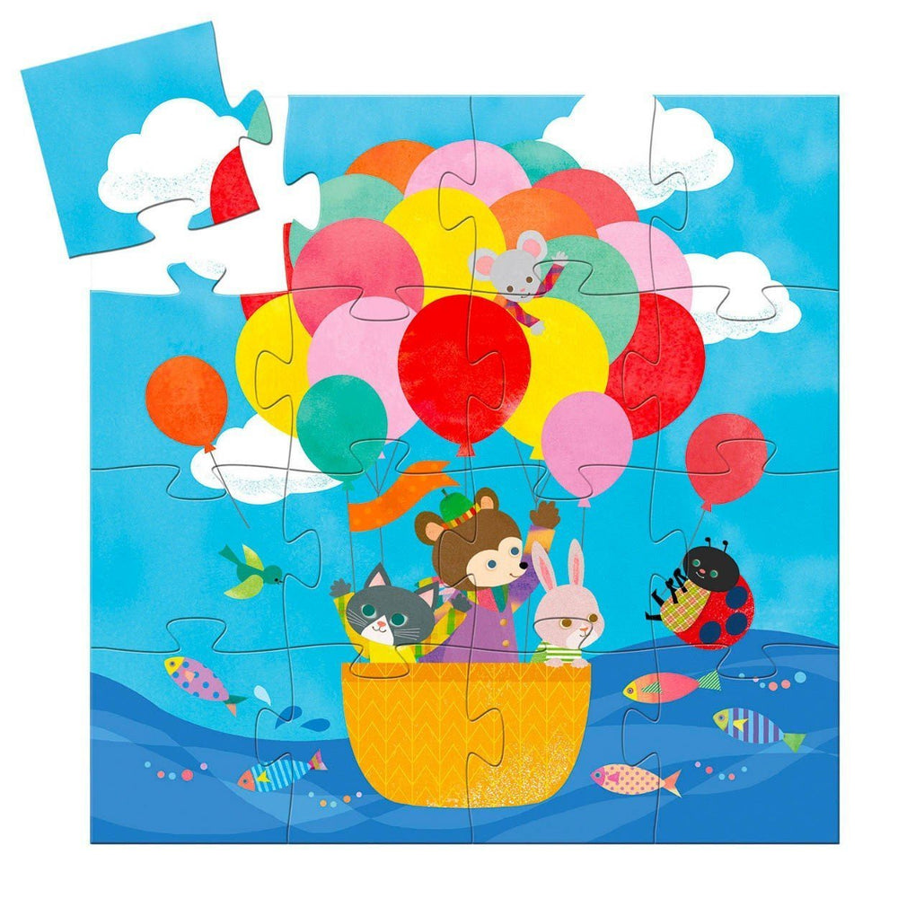 Hot Air Balloon Puzzle - Rinse Bath & Body