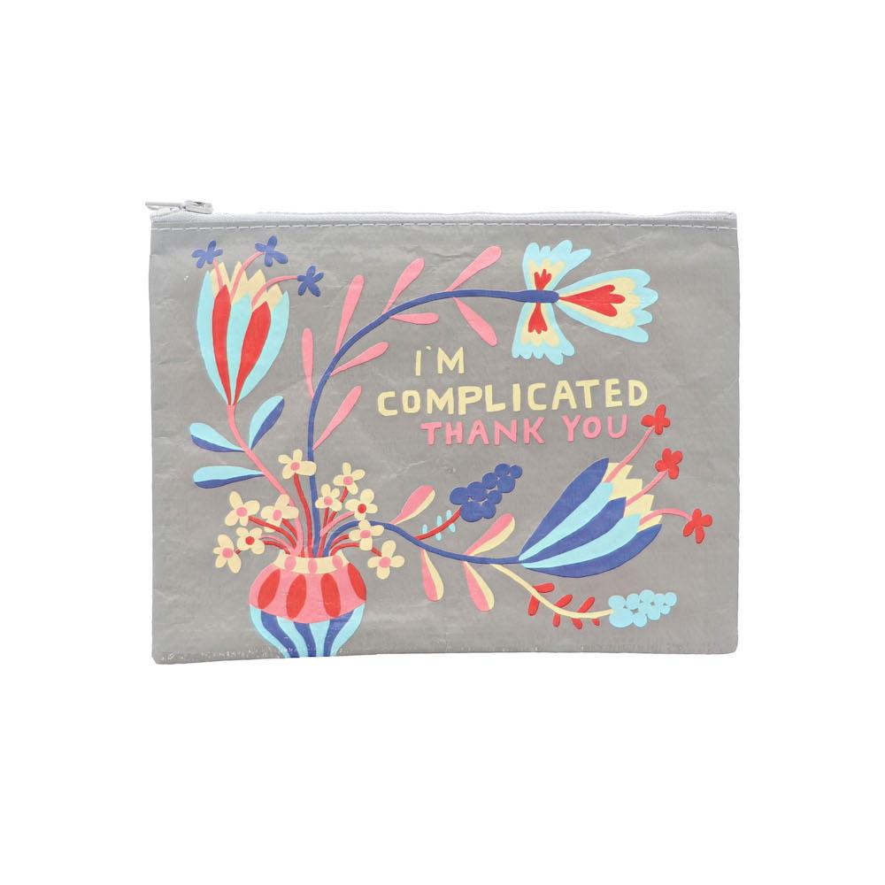 I'm Complicated, Thank You Zipper Pouch