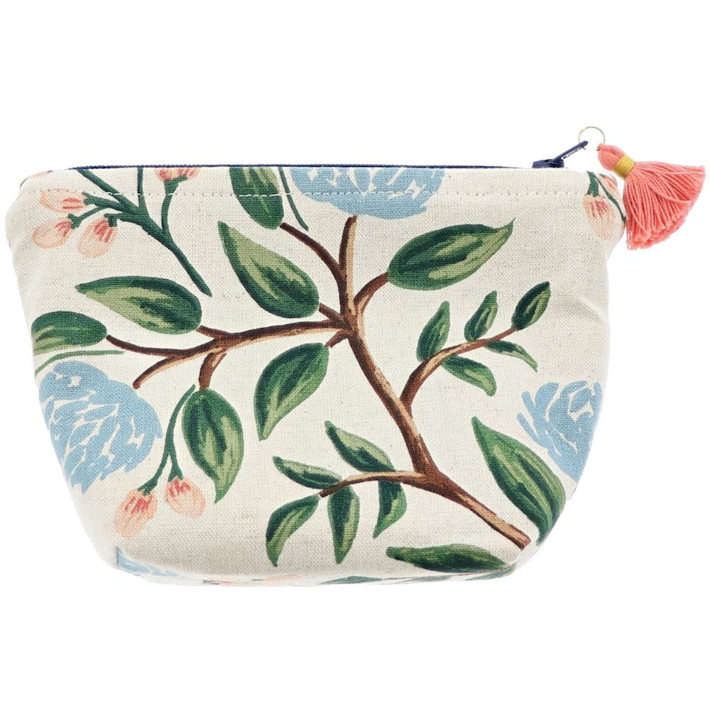 Leaf Pattern Essential Oil Bottle Pouch 6 Row