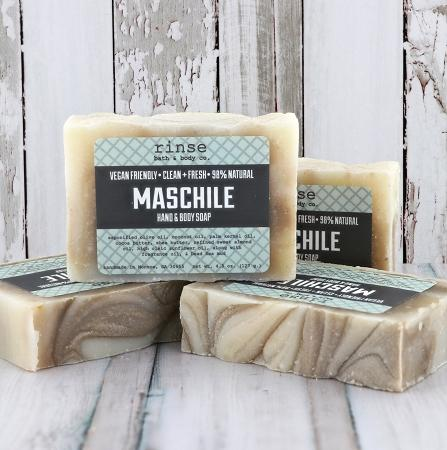 Maschile Soap - Rinse Bath & Body
