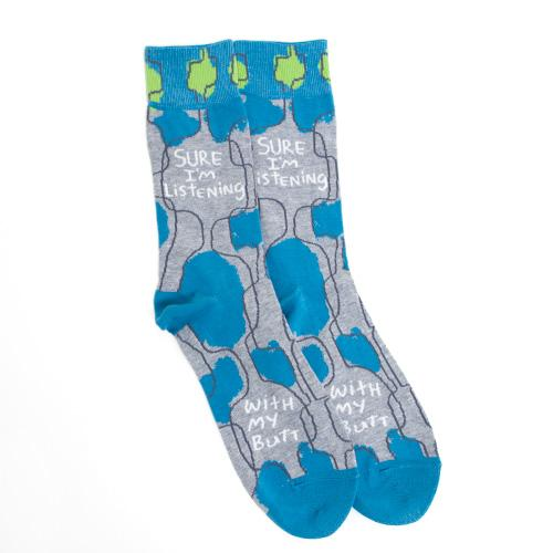Men's Socks - Sure I'm Listening - Rinse Bath & Body
