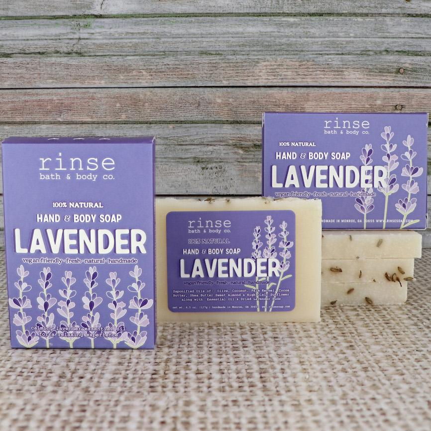 Mini Lavender Soap - Rinse Bath & Body