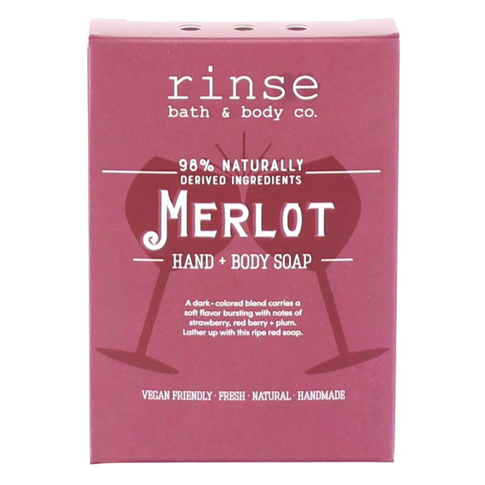 Mini Merlot Soap - Rinse Bath & Body