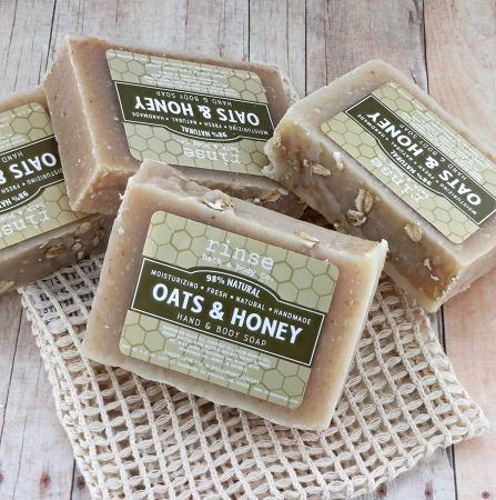 Oats & Honey Soap - Rinse Bath & Body