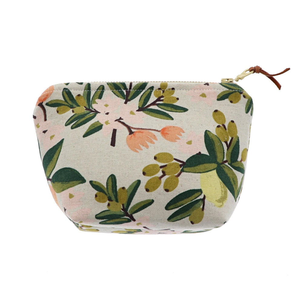Olive Branch Pattern Essential Oil Bottle Pouch 6 Row - Rinse Bath & Body