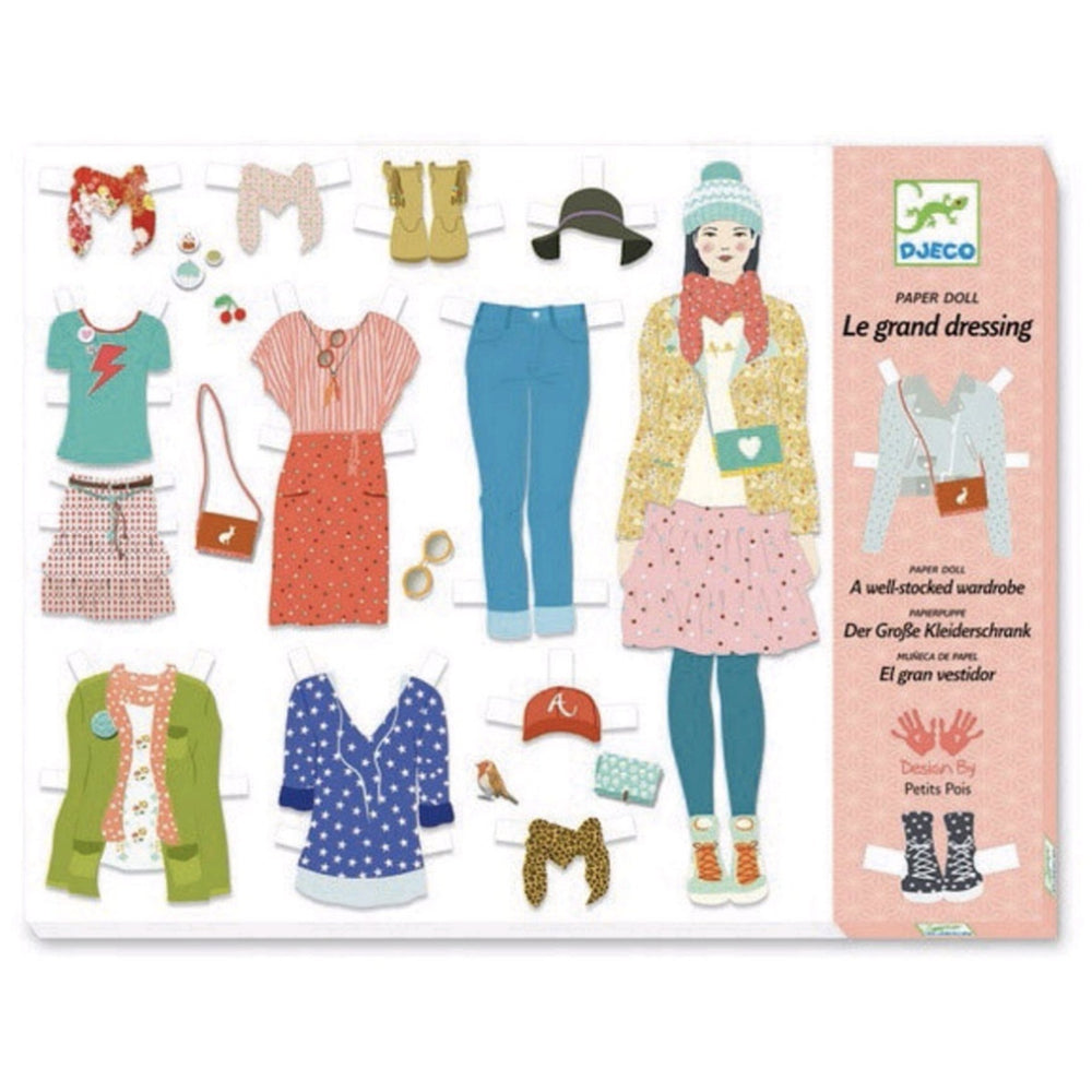 Paper Doll w/ Wardrobe - Rinse Bath & Body