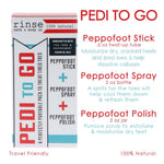 Pedi-to-Go Set - Rinse Bath & Body