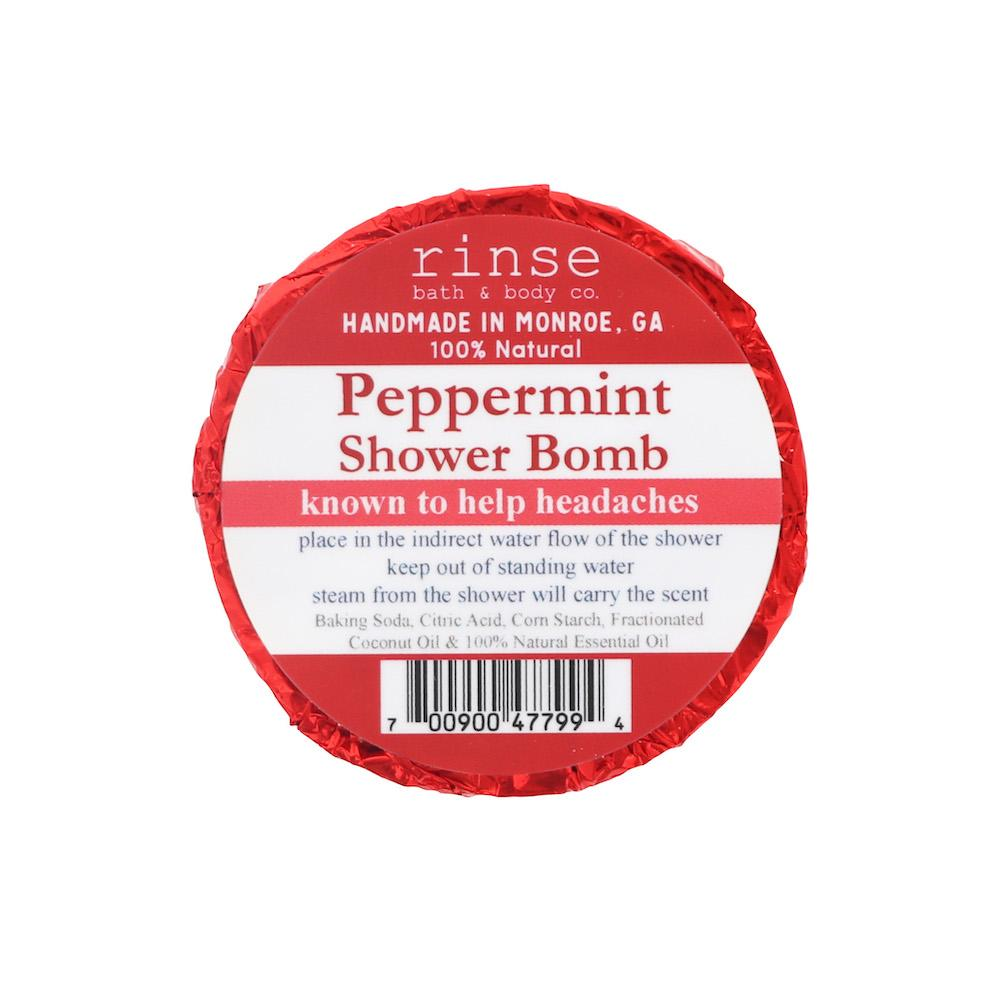 Peppermint Shower Bomb