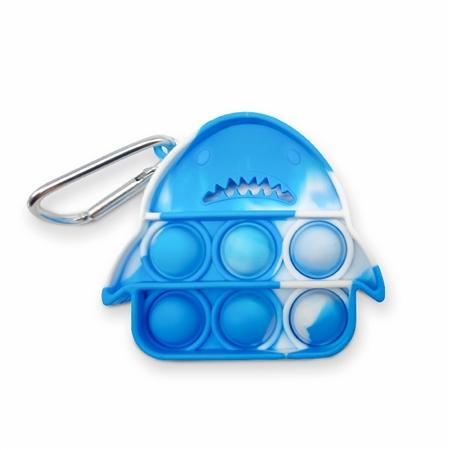 Pop Fidgety Key Chain - Shark