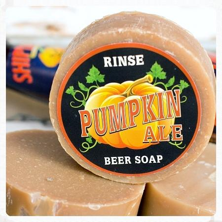 Pumpkin Ale Soap - Rinse Bath & Body