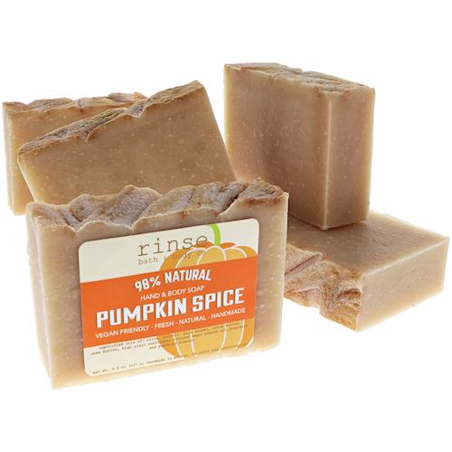 Pumpkin Spice Soap - Rinse Bath & Body