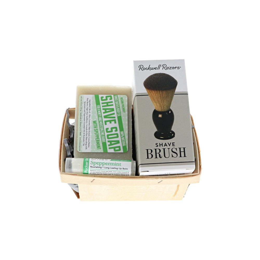 Shaving for Him Gift Basket - Rinse Bath & Body