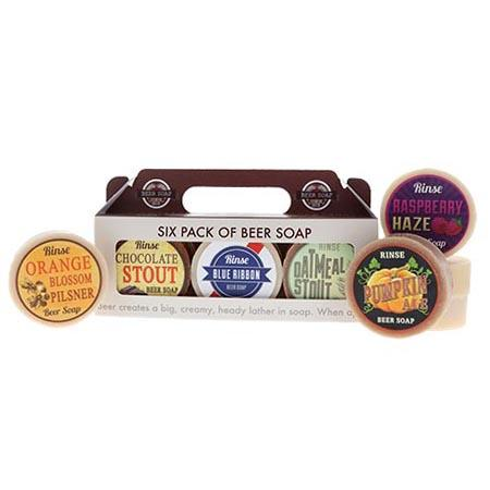 Six Pack of Beer (soaps)