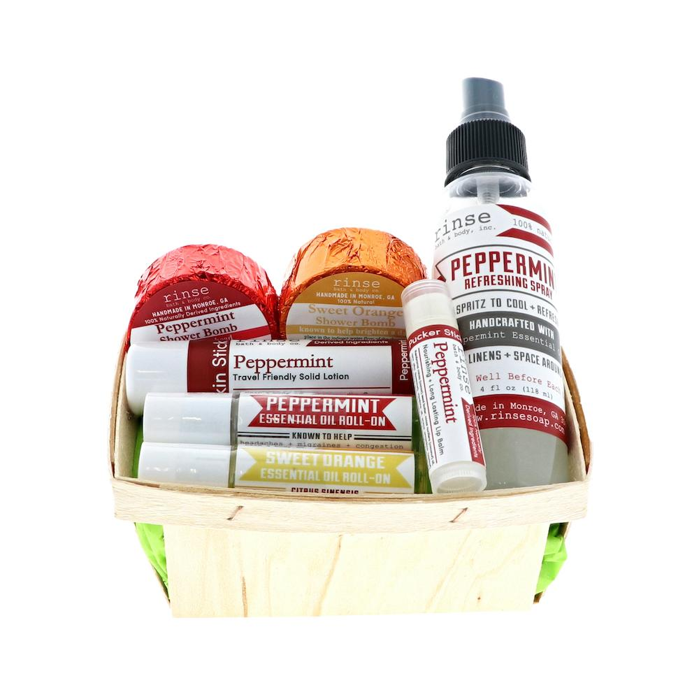 Study Savior Gift Basket - Rinse Bath & Body