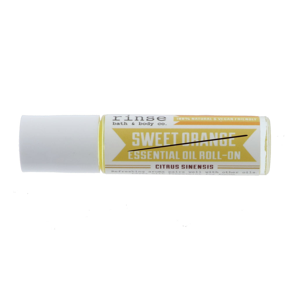 Sweet Orange Roll-On Essential Oil - Clouded