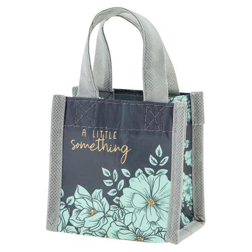Tiny Gift Bag Mint Floral - Rinse Bath & Body