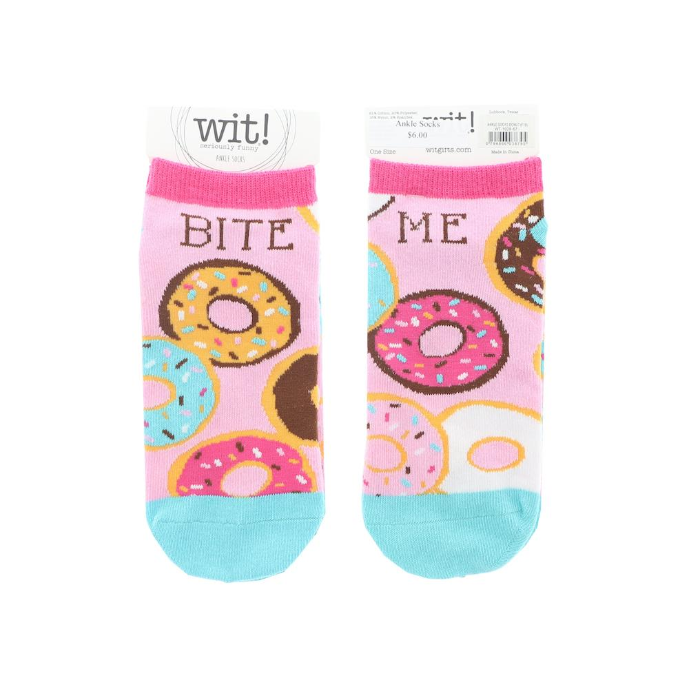 Women's Socks - Bite Me - Rinse Bath & Body
