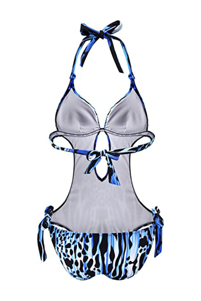 One Piece Tummy Control Cutout Swimwear Monokini - B2prity