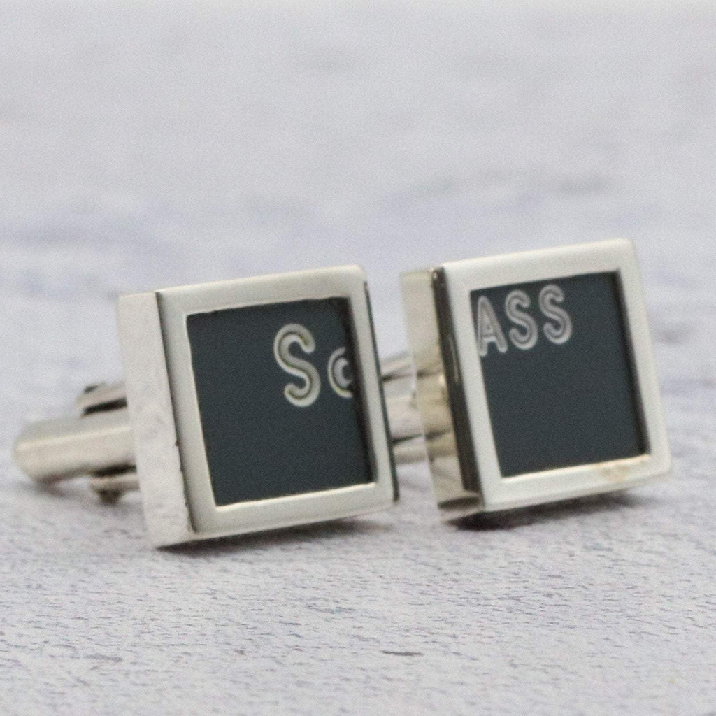 Hepburn and Hughes Concorde Cufflinks in Sterling Silver