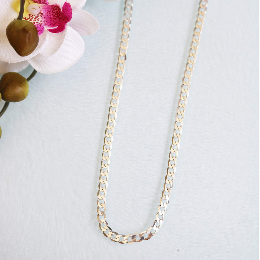 "Hepburn and Hughes Curb Chain 30"", Sterling Silver"