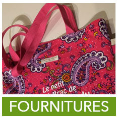 Fournitures : Tote bag