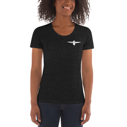Women's Crew Neck T-shirt - Dronezero E-shop