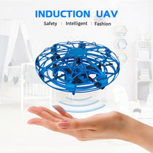 Carica l'immagine nel visualizzatore di Gallery, Mini Flying Helicopter UFO Drone Infrared Induction Aviation Quadrocopter Updated Radio controlled Toys for Children Adult Toys - Dronezero E-shop
